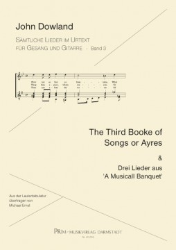 Dowland: The Third Booke