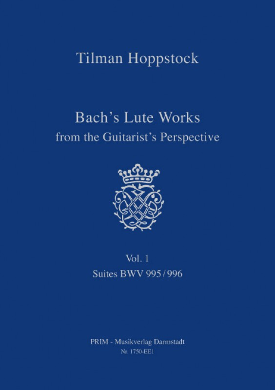 Hoppstock: Bach-Vol. 1  Bachs Lute Works... Vol. 1  -  Suites BWV 995/996