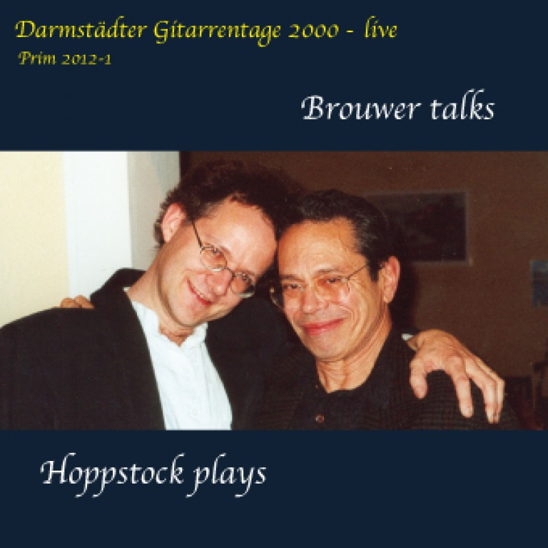 Brouwer talks Live at Darmstädter Gitarrentage 2000