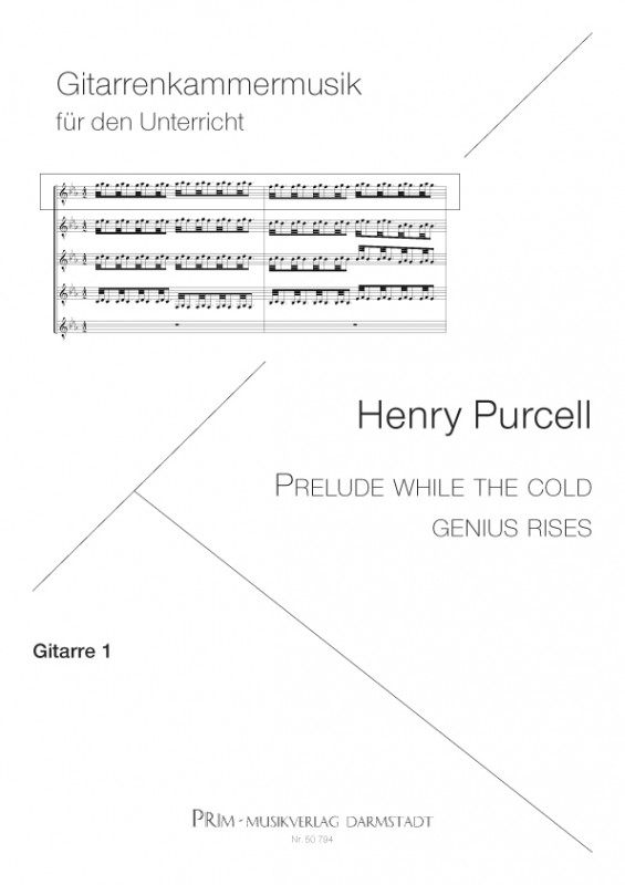 Henry Purcell What Power art thou - Extra-Stimmensatz