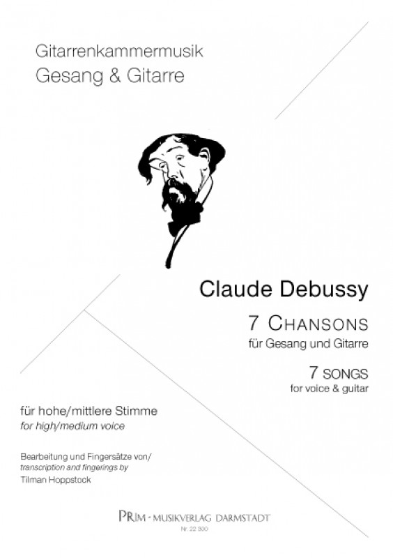 Claude Debussy 7 Chansons