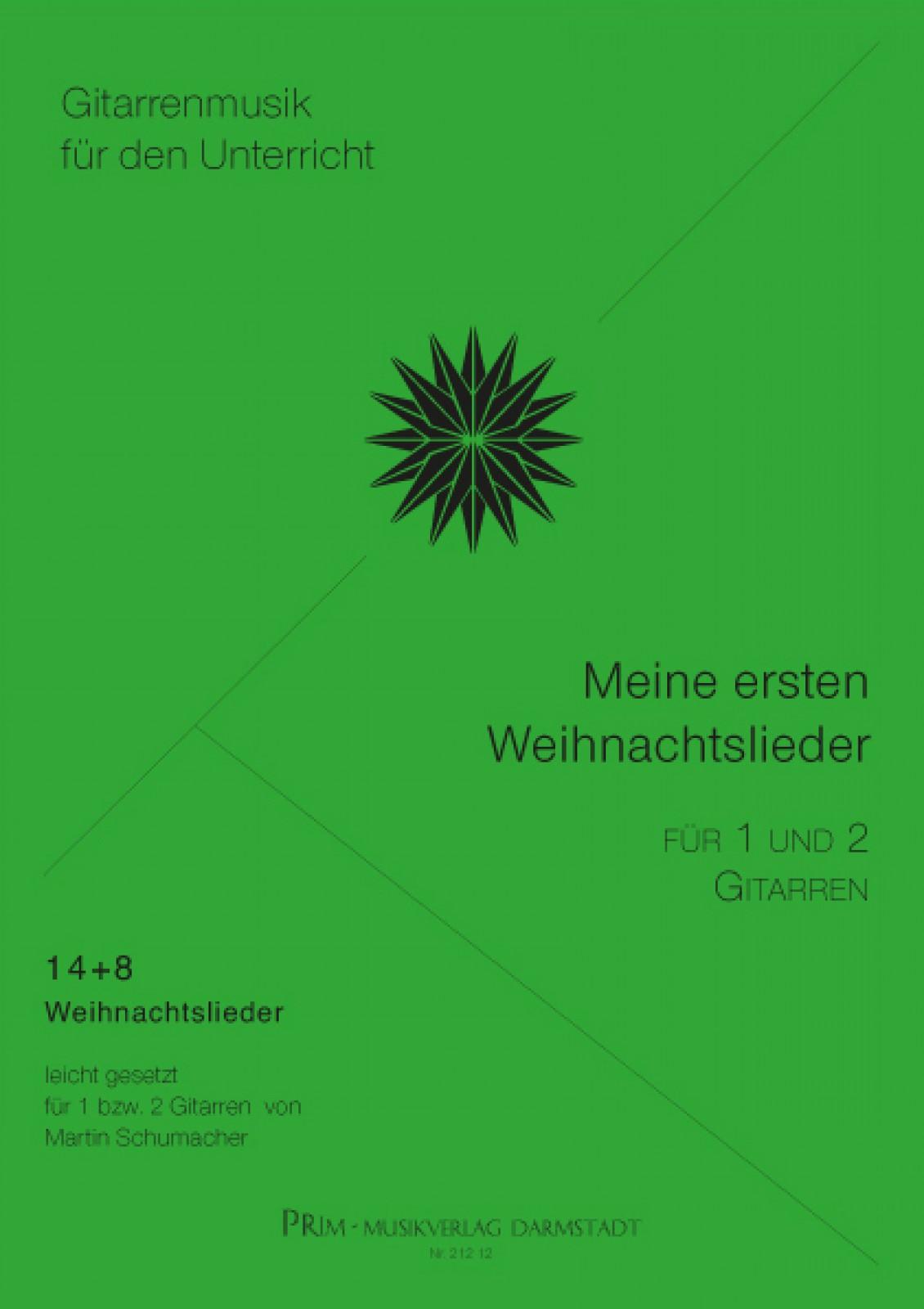 schumacher: meine ersten weihnachtslieder