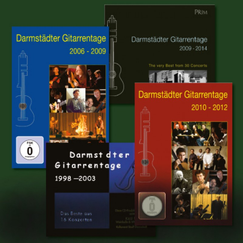 DA - Gitarrentage  CDs  -  DVDs