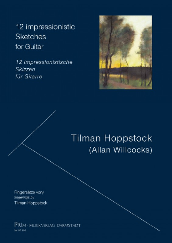 Hoppstock / Willcocks 12 impressionistic Sketches for Guitar