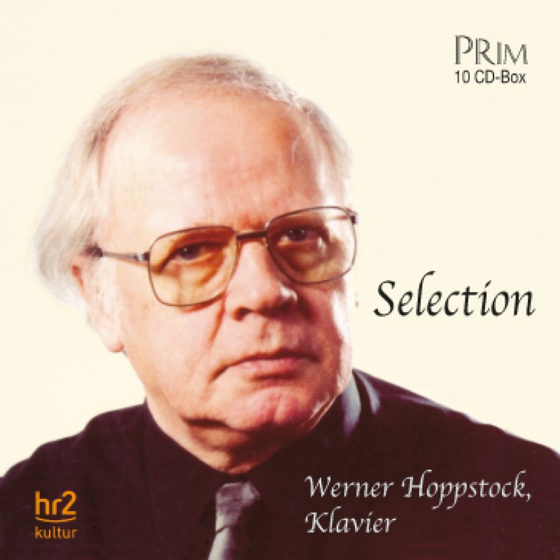 Werner Hoppstock (Klavier) Selection - 10 CD-BOX