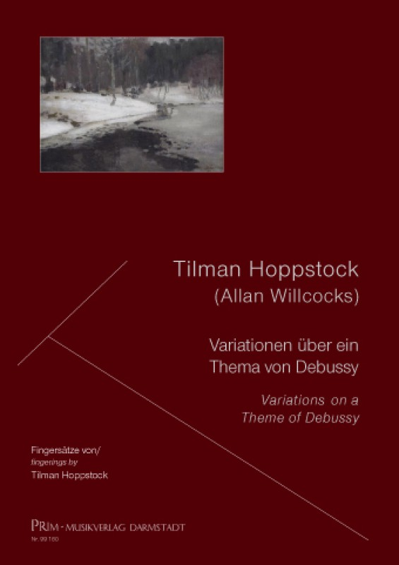 Hoppstock / Willcocks Variations on a Theme of Debussy for Guitar