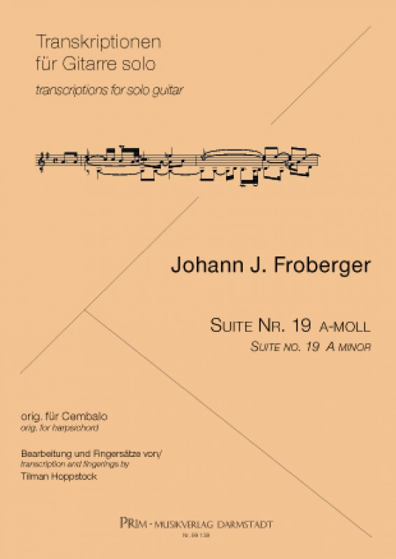 Froberger Suite Nr. 19 e-moll