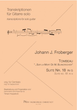 Froberger Tombeau & Suite Nr. 18