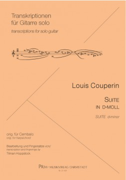 Louis Couperin Suite in d