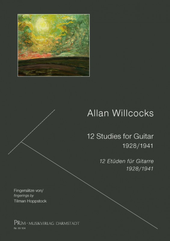 Hoppstock / Willcocks 12 Studies for Guitar