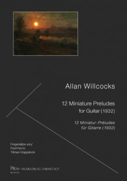 Willcocks: 12 Miniature Preludes for Guitar